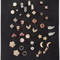 SET OF 20 PAIRS OF STUD EARRINGS from EXPRESS