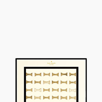 Kate Spade Bow Push Pins Gold ONE
