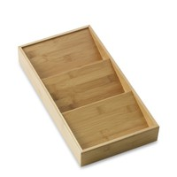 Bamboo In-Drawer Spice Rack