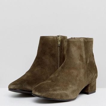 Selected Suede Boot at asos.com