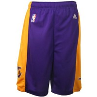 Adidas Los Angeles Lakers Youth (Sizes 8-20) Revolution 30 Replica Road Shorts