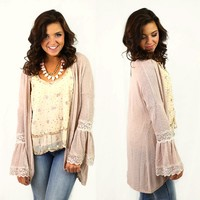 Neutral Opinion Cardigan by Double Zero