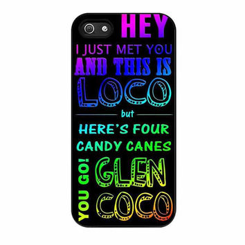glen coco mean girls inspired poster rainbow cases for iphone se 5 5s 5c 4 4s 6 6s plus