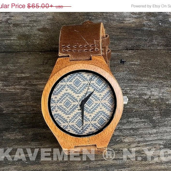 SALE Wood Watch. Mens Watch. Engrve Watch. Personalized Watch. Miami. Kavemen. Mens Personalized Watch. Kavemen. Wooden Gift.