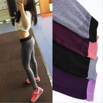 NORMOV S-XL 4 Colors Women's Seamless Leggings For Adventure Time Bodybuilding Clothing Fashion Leggings Women 6A