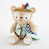 Levtex Baby Bindi Bear Plush with Security Blanket