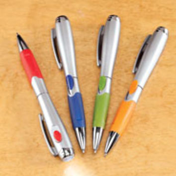 Flashlight Pen - Set of 4