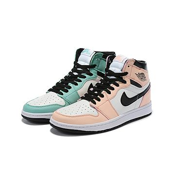 Air Jordan 1 - Top 3 Pink/Green