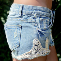 Touch of Crochet Shorts