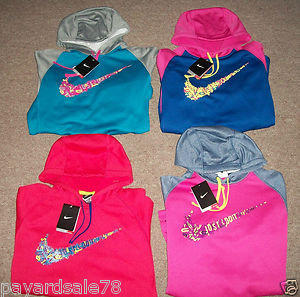 YOU PICK ! WOMEN'S THERMA FIT NIKE SWEATSHIRT HOODIE XS SMALL MEDIUM LARGE XL