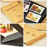 Fold Album Scrapbook Album DIY Design Photo Album 2R 3R 4R 5R 6R Polaroid Fujifilm Instax Mini Wide Film Photo Holders