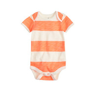 crewcuts Baby One-Piece In Neon Stripe
