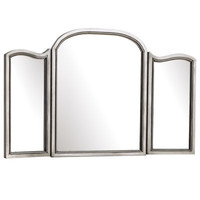 Hayworth Mirror - Silver