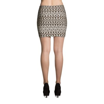 Aztec Mini Skirt - MC 1A