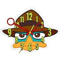 Phineas and Ferb Perry Wall Clock