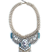 Blue Opulence  Necklace
