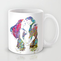 Pocahontas and John Smith Love Mug by Bitter Moon
