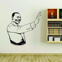 Mlk Jr Martin Luther King Jr. Balck History Vinyl Wall Decal Sticker