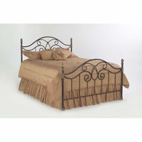 Fashion Bed Group B91N54 Dynasty Autumn Brown Full Bed Frame