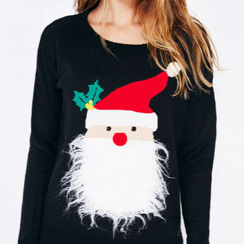 Tops Winter Christmas Long Sleeve Hoodies [9307401220]
