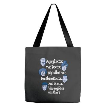 angry doctor Tote Bags
