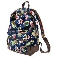 Mossimo Supply Co. Tropical Print Backpack - Blue