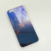 Streets of New York Colorful Reflection Rubber creative case for iPhone 5s 6 6s creative case iPhone 6 6s Plus Gift-76
