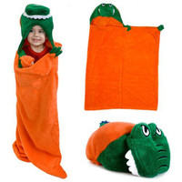Florida Gators NCAA Huggable Hooded Mascot Blanket