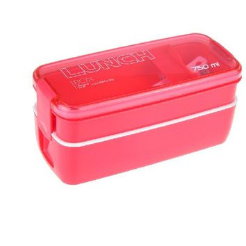 750ml Lunch Box Food Storage Container Microwave Oven Bento Boxes