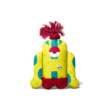 Alien Flex Biggoe | Canvas Plush Dog Toy