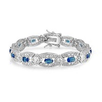 Bling Jewelry Blue Dreamy Bracelet