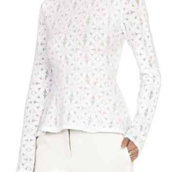 Estelle Long-Sleeve Lace