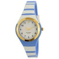 Kate Spade Women's Rumsey KSW1088 Blue Silicone Quartz Fashion Watch