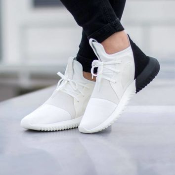 adidas Tubular Defiant W (Off White / Off White / Core Black)