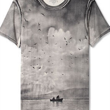 Guess Jeans Shirt, Dreamy Photo T-Shirt - T-Shirts - Men - Macy's