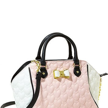 BE MY BOW LARGE SATCHEL