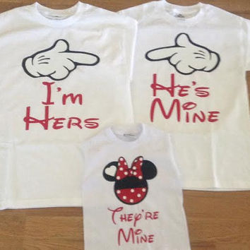 Free Shipping for US Mickey Mouse Family T Shirts/Tank Tops.