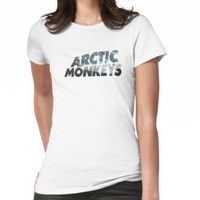 Arctic Monkeys Logo with Mountain Overlay by emmarly
