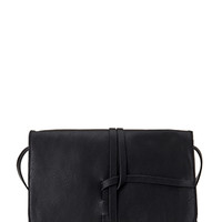 FOREVER 21 Wrapped Faux Leather Crossbody