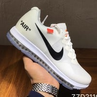 NIKE x Off-white Woman Men Fashion Sneakers Sport Shoes