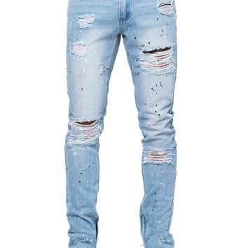 Lancaster Tapered Jeans - Light Blue
