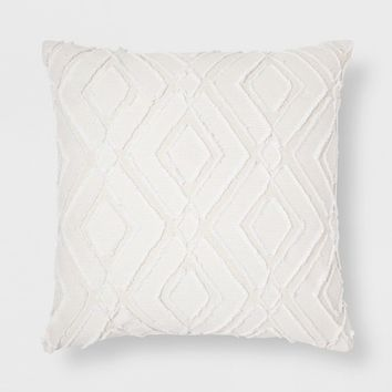 Cutout Throw Pillow - Cream - Threshold™