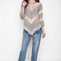 Anemone Floral Knit Top