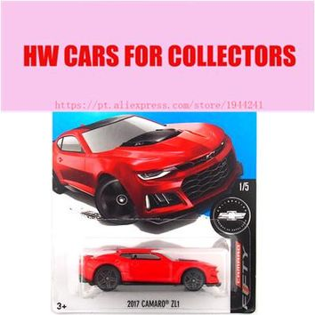 2017 Hot Sale 1:64 Car wheels Red Camaro ZL1 NEW Metal Diecast Cars Collection Kids Toys Vehicle For Children Juguetes