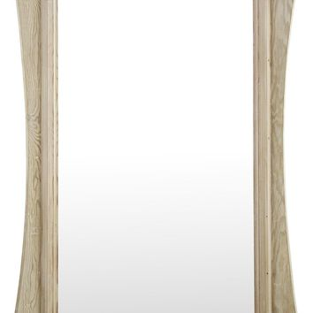 CFC 41 X 72 in. Thistle Mirror with Reclaimed Wood Frame