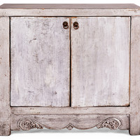 Wells Low Cabinet, Silver, Buffets & Sideboards
