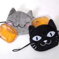 Kitty Hot Pack & Pouch Set