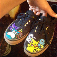 Pokemon Vans Shoes