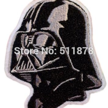 "Ten 4"" STAR WARS Darth Vader TV Movie Fancy Embroidered Sew On Iron On Patch  Applique"