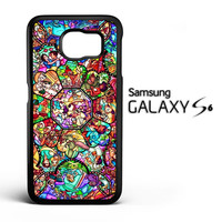 DISNEY ALL CHARACTERS V0094 Samsung Galaxy S6 Case